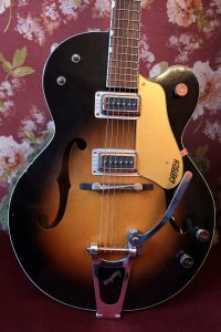 1964 Gretsch Anniversary guitar with p-90 pickup's in filtertron housings