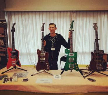 Fab Guitars on the South of England Guitar Show 23 Oct 2016