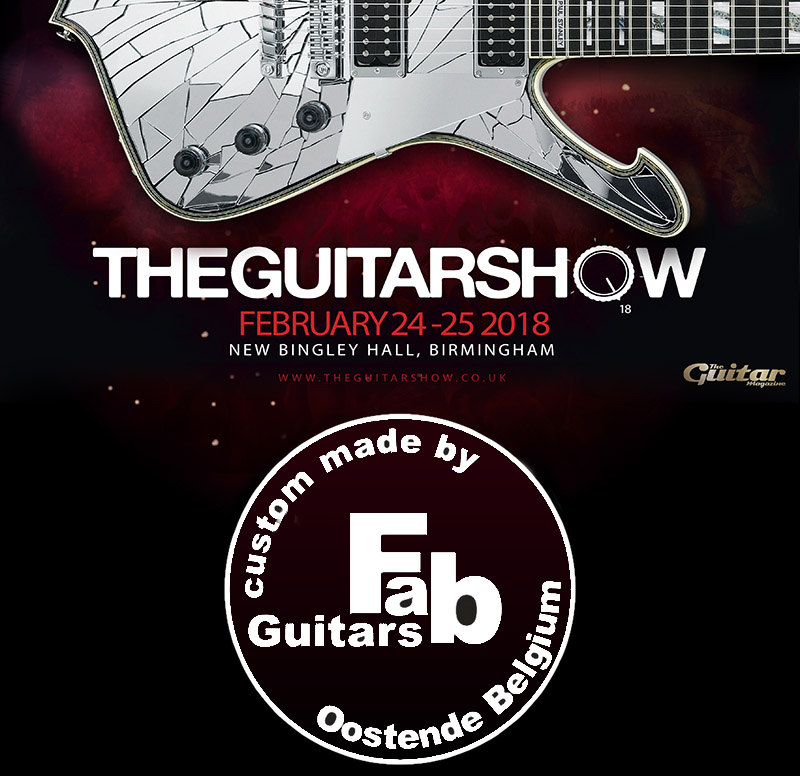 Fab Guitars at the Guitarshow in Birmingham