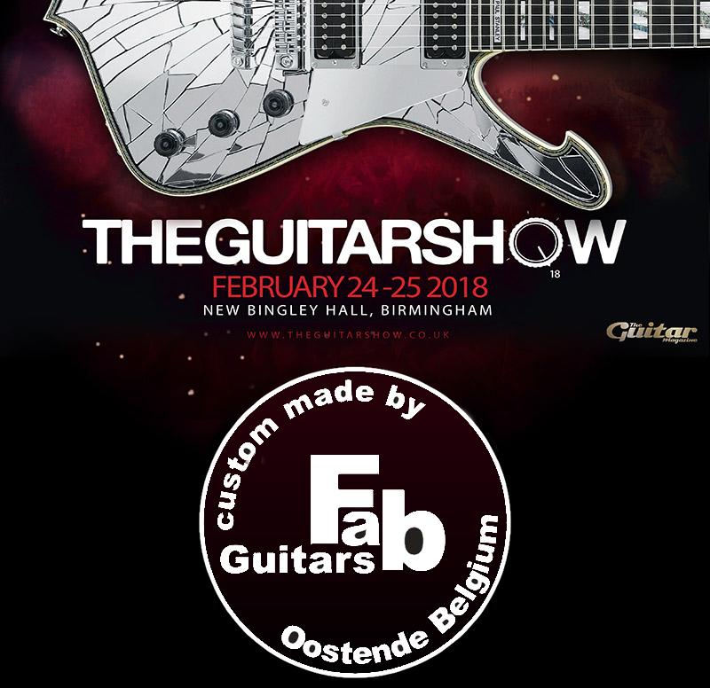 Fab Guitars at the Guitarshow in Birmingham