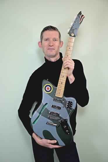 Custom Fab Spitfire guitar